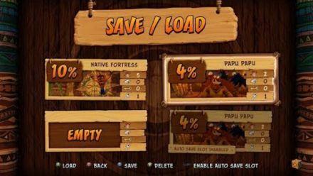 Crash Bandicoot NSane Trilogy : Vidéo des menus Xbox