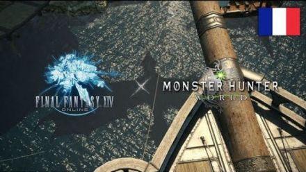 Vidéo : FF XIV : Bande-annonce de l'événement Monster Hunter World