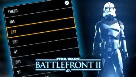 Battlefront 2 : Un leak montre le système de customisation