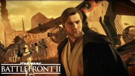 Vidéo : Star Wars Battlefront II : Trailer d'Obi-Wan Kenobi