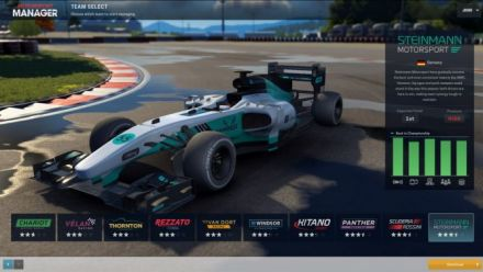 Vid�o : Motorsport Manager - Trailer de lancement