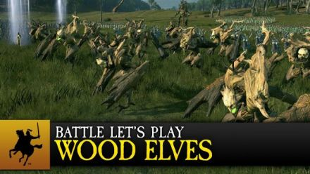 Vid�o : Total War : Warhammer montre ses elfes sylvains en let's play