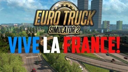 Vid�o : Euro Truck Simulator 2 : Vive la France - trailer