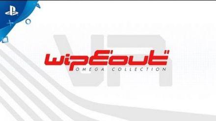 Vidéo : WipEout Omega Collection VR : trailer de lancement
