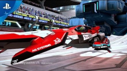 Vid�o : PSX 2017 : WipEout Omega Collection VR trailer
