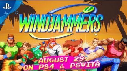 Windjammers PS4 et Ps Vita date de sortie