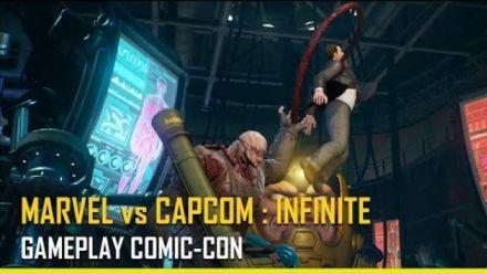 Vid�o : Marvel vs. Capcom : Infinite : Gameplay Trailer Comic Con 2017