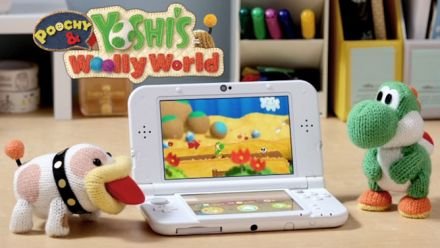 Vid�o : Poochy & Yoshi's Woolly World - Bande-annonce de lancement