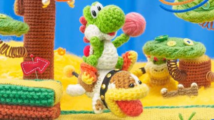 Vid�o : Poochy & Yoshi's Woolly World : Va chercher, Poochy !