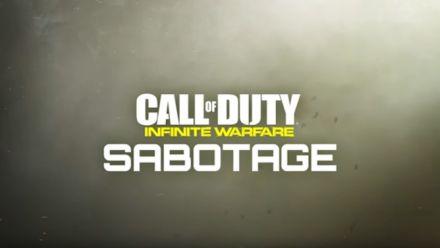 Vid�o : CoD Infinite Warfare Sabotage en vidéo