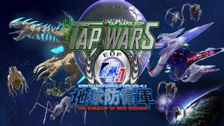 Vid�o : Tap Wars Earth Defense Force sur iOs et Android