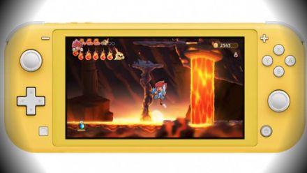Vid�o : Monster Boy : mise à jour 1.05 sur Nintendo Switch Lite