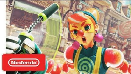 Vid�o : ARMS - Introducing Lola Pop - Nintendo Switch