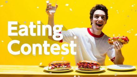 vidéo : 1-2 Switch : Présentation de Eating Contest