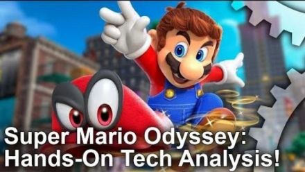 Vid�o : Super Mario Odyssey : Analyse technique de Digital Foundry