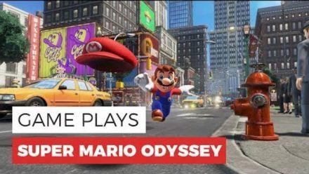 Vid�o : Super Mario Odyssey : Gameplay New Donk City en 60 fps