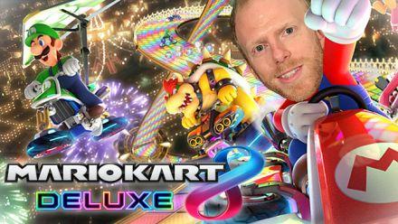 Découvrez Mario Kart 8 Deluxe sur Switch avec nous !