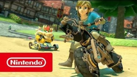 Vidéo : Mario Kart 8 Deluxe : Mise à jour Zelda Breath of the Wild