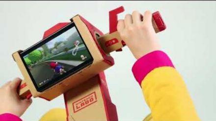 Mario Kart 8 Deluxe : Vidéo compatibilité Toy-Con