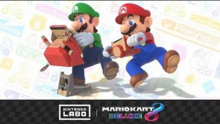 Mario Kart 8 Deluxe sera compatible avec le kit véhicules du Nintendo Lab