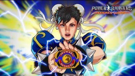 Vidéo : Power Rangers Legacy Wars : Bande-annonce Chun-Li Ranger