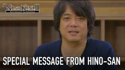 Ni No Kuni 2 : Message de Akihiro Hino