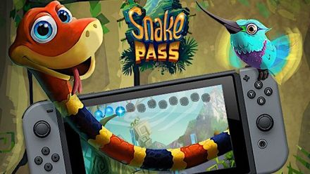 Vid�o : Snake Pass sur Nintendo Switch : Trailer du mode Time Trials