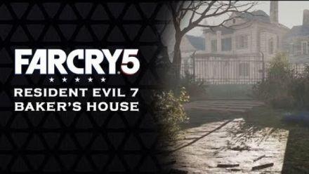 Vid�o : Far Cry 5 : La maison de Resident Evil 7 reproduite dans le mode Arcade