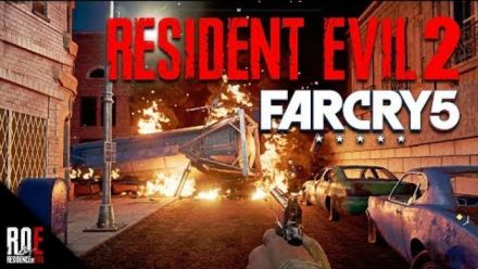 Vid�o : Far Cry 5 : Resident Evil 2 recréé à l'aide de l'éditeur de maps