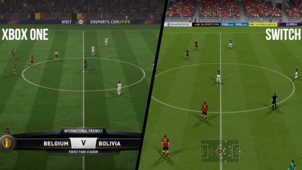 FIFA 18 : comparo Xbox One vs Nintendo Switch