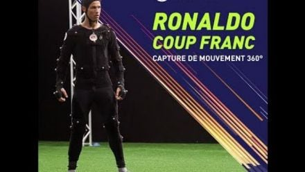 FIFA 18 - Cristiano Ronaldo Coup Franc - Session Capture de Mouvement 360°