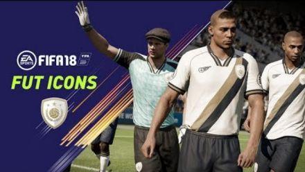 vidéo : FIFA 18 Ronaldo, Pelé, Henry, Maradona, Yachine : les légendes arrivent sur PS4