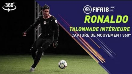 FIFA 18 - Cristiano Ronaldo Heel Chop - Session Capture de Mouvement 360°