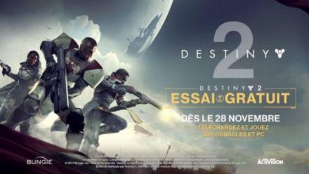Vid�o : La bande annonce de la version d'essai gratuite de Destiny 2