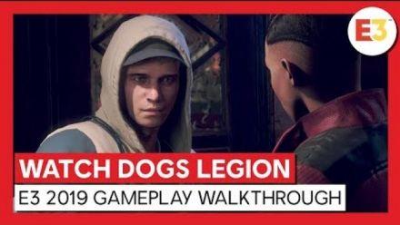 Vidéo : Watch Dogs Legion : Trailer de gameplay E3 2019