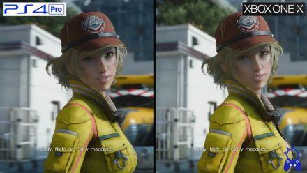 Vid�o : FF XV : comparatif PS4 Pro et Xbox One X