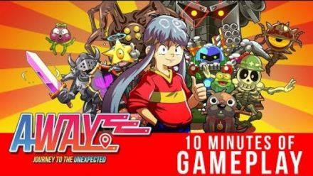 Vid�o : AWAY Journey to the Unexpected : 10 minutes de gameplay