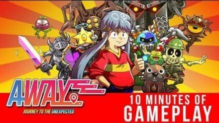 Vidéo : AWAY Journey to the Unexpected : 10 minutes de gameplay