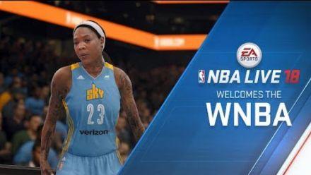 NBA live 18 : La WNBA arrive dans le jeu