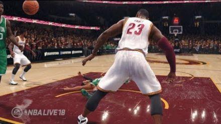 NBA Live 18 : Première vidéo gameplay