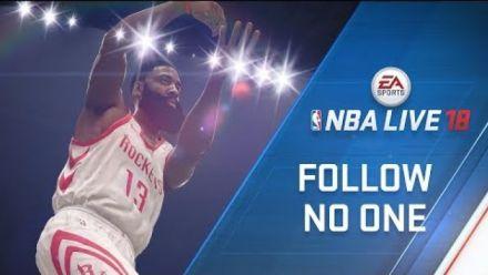 Vid�o : NBA Live 18 : James Harden sur la Jaquette du jeu en vidéo