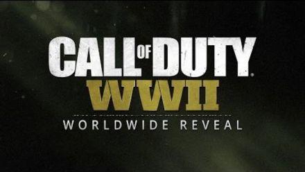 Reveal CoD WW II 26 avril 2017