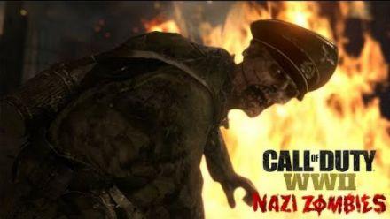 Call of Duty WWII Nazi Zombies Mode Coop en vidéo