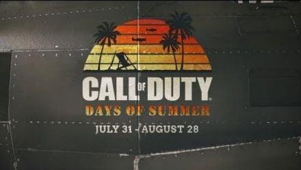 "Call of Duty WWII présente son événement ""Days of Summer"""