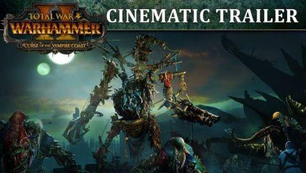 Vidéo : Total War: WARHAMMER 2 - Curse of the Vampire Coast Trailer