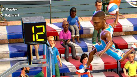 Vid�o : NBA Playgrounds : Vidéo de gameplay PS4