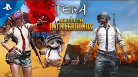 TERA x PUBG - Coming in March! | PS4