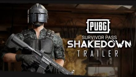 PUBG - Survivor Pass SHAKEDOWN Available Now