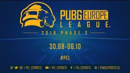 PUBG Europe League o Phase 3 Trailer