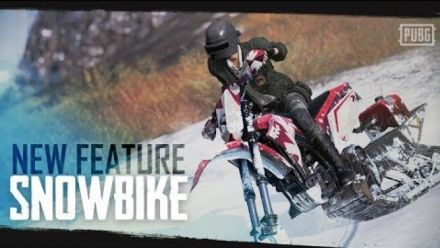 PUBG - Vikendi: New Feature - Snowbike